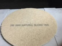 "3M 3500 20"" TAN FLOOR CLEANING PADS CASE OF 5 in Orland Park, Illinois"