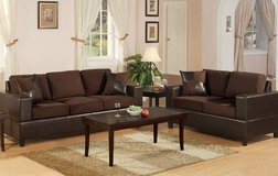 New Tan Microfiber Sofa + Love seat Set FREE DELIVERY in Camp Pendleton, California