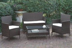 4 Piece Sofa + 2 Chairs + Table Patio Set FREE DELIVERY in Camp Pendleton, California