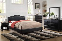 New Black California King Platform Bed FREE DELIVERY in Camp Pendleton, California