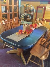 Black Pedestal Dining Table in Camp Pendleton, California