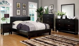 New King Bed Frame in Espresso FREE DELIVERY in Camp Pendleton, California