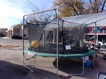 Sport Power Trampoline With Safety Net in Fort Riley, Kansas