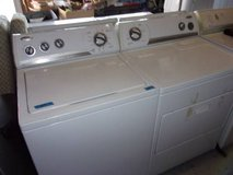 whirlpool matching washer and dryer set in fort riley kansas