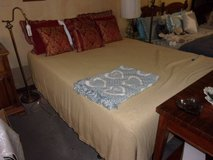 Full Size Bed With Serta Thick Comfort Mattress in Fort Riley, Kansas
