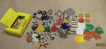 KINEX Yellow Case Full of K'nex parts for Mario Prong Angry Bird Robot 5 pounds+ in Byron, Georgia