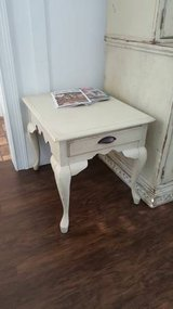 Nice Heavy End Table with Drawer in Beaufort, South Carolina