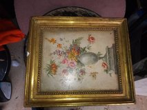 BORGHESE FRAMED FLORAL PRINTS - VINTAGE PICTURES in Travis AFB, California