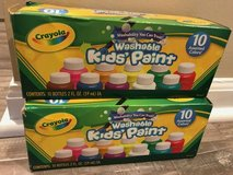 2 boxes Crayola Kids' Paint Washable 10ct  - New in Joliet, Illinois