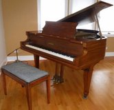 Antique Chickering Grand Piano w/padded Bench ~ Beauty in Orland Park, Illinois