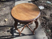 ANTIQUE WOOD ORNATE TABLE--REDUCED in Tinley Park, Illinois