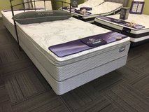 **SAVE $300**New Display Model**Serta Super PillowTop Queen Set in Beaufort, South Carolina