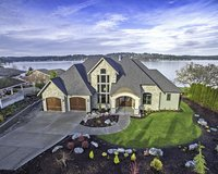 NEW WATERFRONT HOME With Dock on Puget Sound in Tacoma, Washington