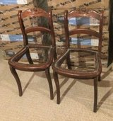 2 Vintage Wood Dining Room Chair Frames in Plainfield, Illinois