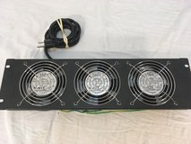 x3 adda ac axial aa1281us-aw black mounted 120mm sever computer cooling fans  01729 in Fort Carson, Colorado