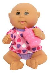 New! Cabbage Patch Kids Drink N' Wet Newborn Baby Doll - Heart in Orland Park, Illinois