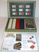 Like New! Dogs Playing Poker Game Kit in Orland Park, Illinois