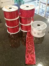 Ribbon - Christmas / Holiday New Rolls   wired edges in Orland Park, Illinois