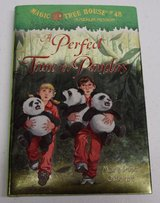 Magic Tree House #48 A Merlin Mission A Perfect Time For Pandas Hard Cover w Dust Jacket in Plainfield, Illinois