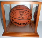 Chicago BULLS 2002-2003 Official Game Autographed Basketball in Orland Park, Illinois