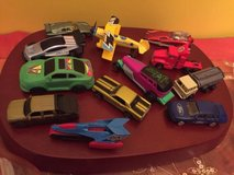 lot of 45 diecast plastic mixed cars small toys in Bolingbrook, Illinois