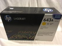 new factory sealed box c5952a genuine hp 643a yellow printer toner cartridge  02411 in Fort Carson, Colorado