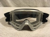 vintage oakley clear lens wrap around snowboard ski / motorcycle goggles  02331 in Fort Carson, Colorado