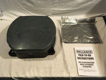 new reliance fold to go portable gray black 14 wide military camping toilet  02229 in Fort Carson, Colorado
