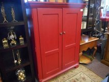 Eye catching Red Cabinet in Naperville, Illinois