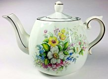 Wood And Sons Ellgreave Ironstone Teapot With Gold Gilding - England in St. Charles, Illinois