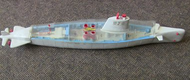 "for parts 1962 remco barracuda 578 battery operated atomic submarine 36"" in Schaumburg, Illinois"