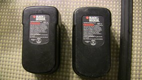 2 black & decker hpb18-ope 18 v battery packs for parts or rebuilding in Schaumburg, Illinois