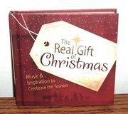 NEW The Real Gift of Christmas Music Inspiration to Celebrate The Season Book CD Set in Plainfield, Illinois
