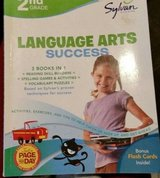 2nd grade language arts success by sylvan learning 9780375430312 + free book!~ in Yucca Valley, California