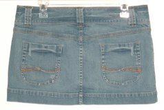 American Eagle Outfitters Double-Button Waist Denim Jean Skirt Womens 10 in Plainfield, Illinois