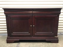 Large Brown Cherry Wood Buffet in Quantico, Virginia