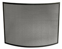 UniFlame Curved Single Panel Steel Fireplace Screen - New in Lockport, Illinois