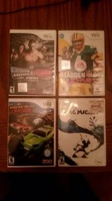 Wii Games - Epic Micky - Madden - Monster Trucks - WWE Smackdown in Plainfield, Illinois