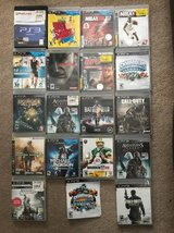 Various PS3 games in Quantico, Virginia