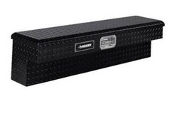 Husky 48 in. Aluminum Side Mount Truck Tool Box, Black - New in Naperville, Illinois