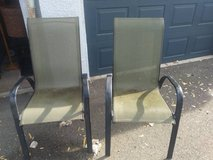 2 olive green Canvas Lawn Chairs in Travis AFB, California