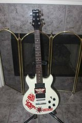 Ibanez Gio GAX70 White Electric Guitar - Green Day in Spring, Texas