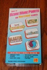 How To Score More Points On Nintendo Games VHS Kodak Video 1989 in Spring, Texas