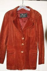 Vintage Ladys Learsi Export Suede Leather Coat in Kingwood, Texas