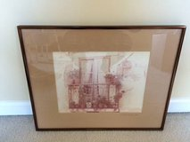 Vintage Italian Framed Photograph in Naperville, Illinois
