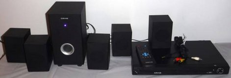 Craig  5.1 Channel Home Theater Surround Sound System w/ DVD Player / remote in Joliet, Illinois