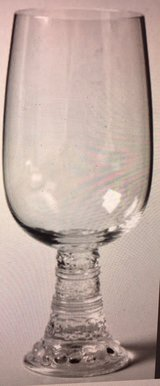7 Crystal Bacchus iced tea/water goblet by Rosenthal Thomas, Germany 1970-1980s in Quantico, Virginia