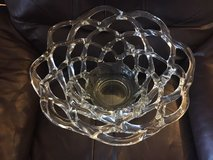 Ornate Glass Bowl Centerpiece in Quantico, Virginia