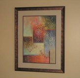 ART - Beautiful Matted & Framed Abstract Print in Aurora, Illinois