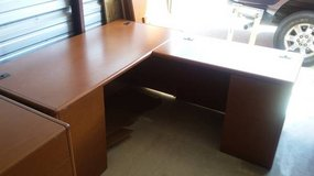 Used HON L-Station Office Desk with Return (Orig. Cost $2544 ) in Joliet, Illinois